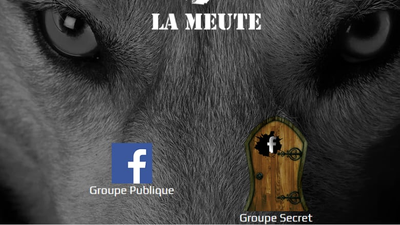 La Meute webpage