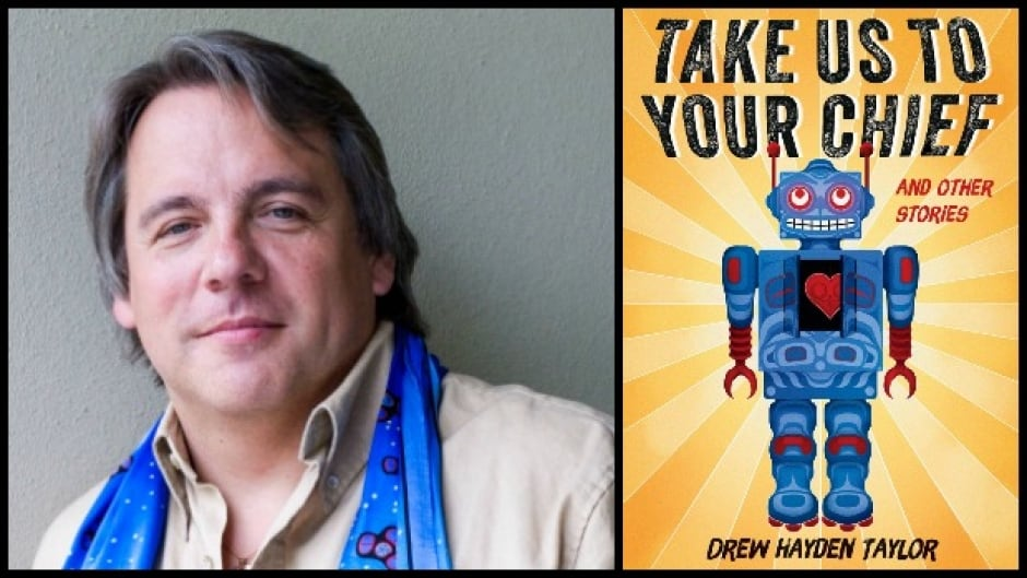 Drew Hayden Taylor's latest collection, Take Us To Your Chief, spans a range of traditional science fiction topics, from peaceful aliens to hostile invaders, space travel to time travel, and government conspiracies to connections across generations.