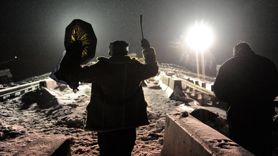 U.S. veterans join N.D. pipeline protest: 'This is what I need to be doing'