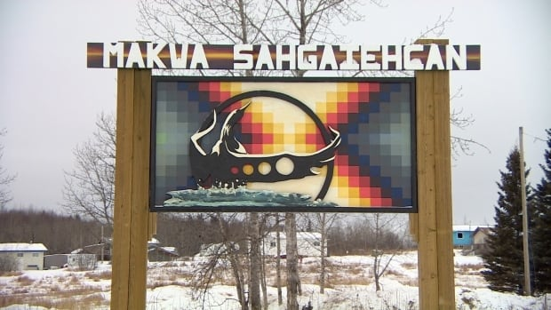 A body has been discovered in the remains of a house fire on the Makwa Sahgaiehcan First Nation.