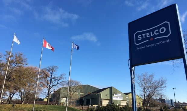 Stelco flags