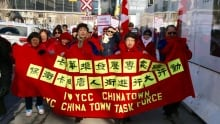 chinatown march