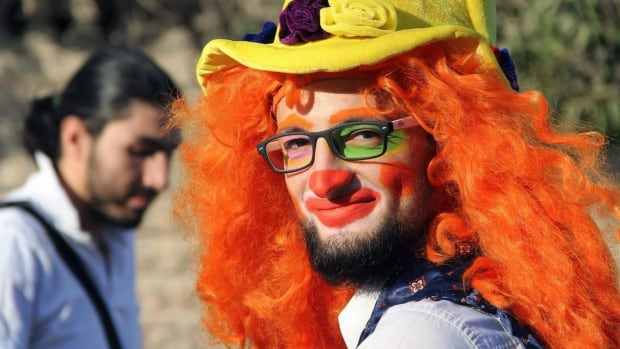 Mideast Syria Clown Obituary