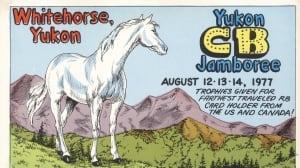 Yukon QSL card