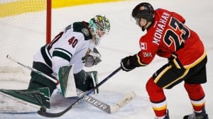 Flames get Wild in shootout with Monahan's winner