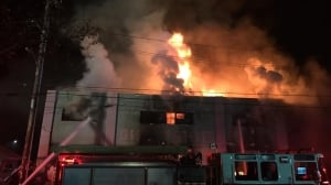 Up to 40 feared dead in California warehouse party fire