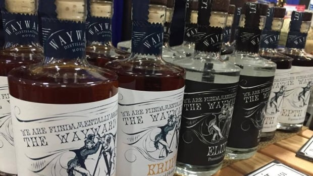 Smaller craft distilleries sell their spirits at Christmas craft markets and online to avoid the provincial markup.