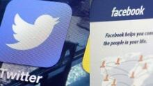 social media facebook and twitter