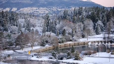 Let it snow! Arctic front heading for B.C.'s South Coast Sunday night