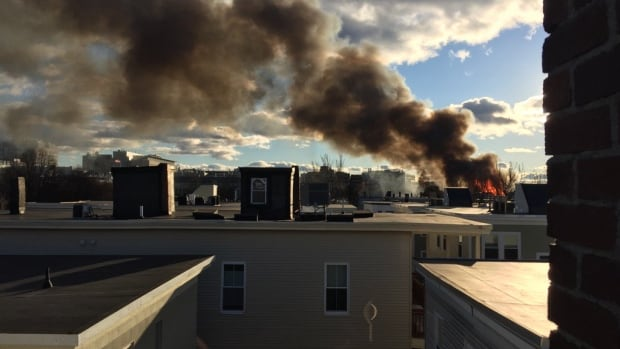 10-Alarm Fire Sets Buildings Ablaze in Cambridge