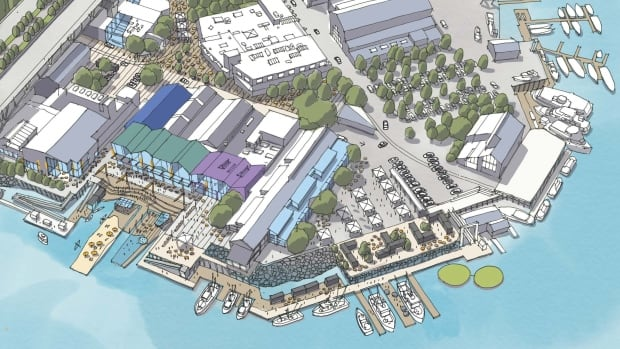 Part of Granville Island's plans for 2040 include re-envisioning the public market space.
