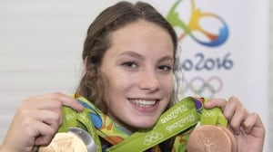 Penny Oleksiak returns to action at short-course world championships