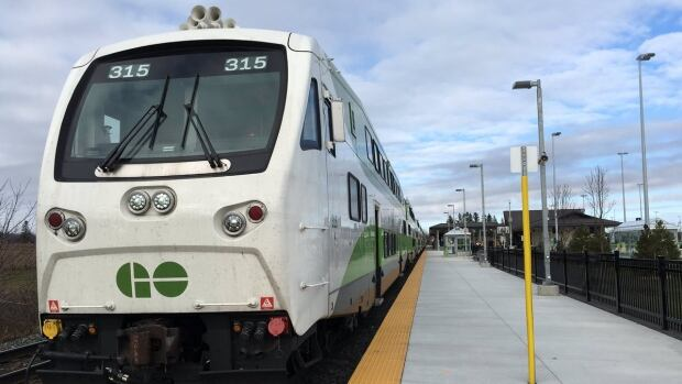 GO Transit trains will service SmartTrack stops, which could be open as soon as 2024.