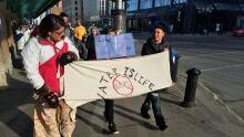 Dakota Access pipeline protest Saskatoon