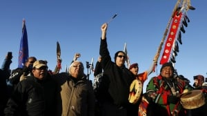 Standing Rock protesters celebrate 'big victory' as pipeline construction halted