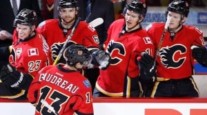 Gaudreau's return sparks Flames' domination of Ducks