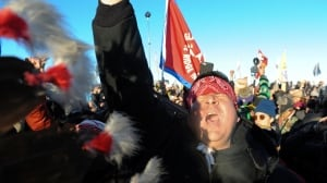 'I'm here until they're done': Standing Rock protesters savour a victory, but not packing up just yet