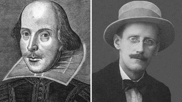 The Enright Files on William Shakespeare & James Joyce