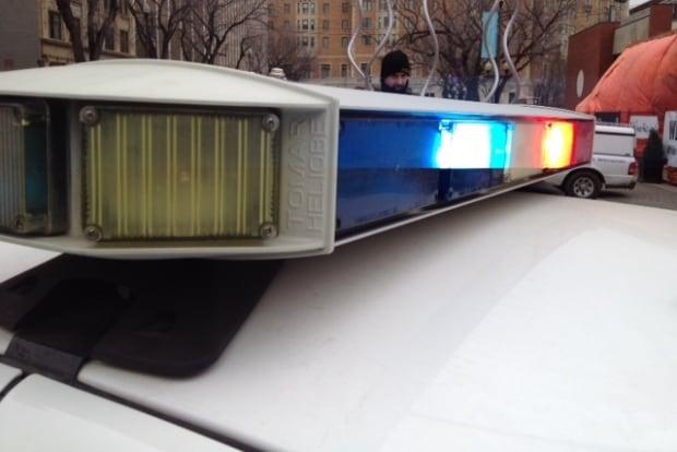 Saskatoon Police Lights