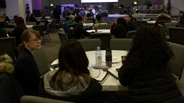 Hundreds of people are expected to meet in Prince Albert, Sask. today to talk about northern suicides.