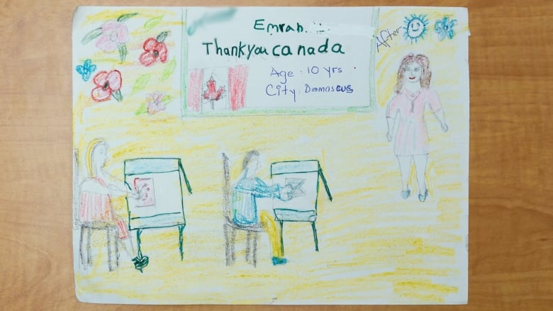 Drawings Of Syria Child Refugees Colour Horrors Of War