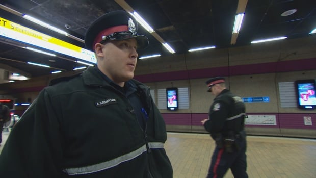 Const. Andrew Furman said the beat patrols give police increased presence and visibility on the LRT