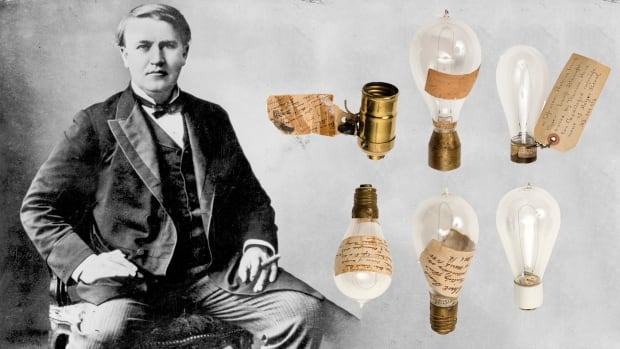 Thomas Edison bulbs auction