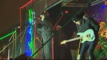 CP Holiday Train Dallas Smith perfoming