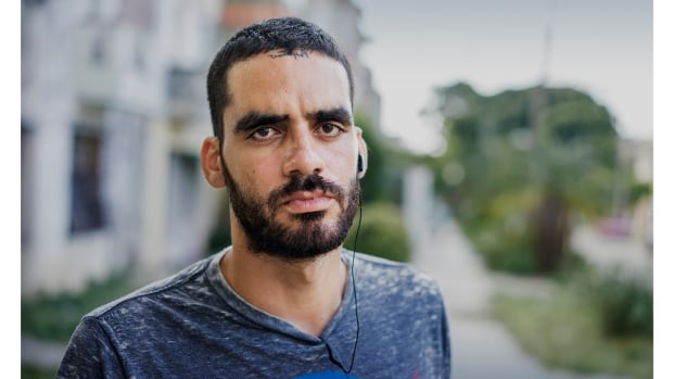 Dissident artist Danilo Maldonado, also known as 'El Sexto', is currently being held in a Cuban detention centre. He was arrested after spray painting his street name on a Havana hotel wall, along with the cheeky message 'Se fue' (He's gone) following Fidel Castro's death.