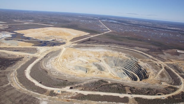 The De Beers Victor Diamond Mine is the first diamond mine in Ontario. The Ontario government requires De Beers to self-monitor and report on mercury and methylmercury levels found in creeks near the open-pit mine — requirements the company says it has followed.