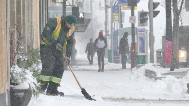 City councillors in Kenora, Ont., voted down a proposal to have businesses shovel the sidewalk in front of their own storefront.