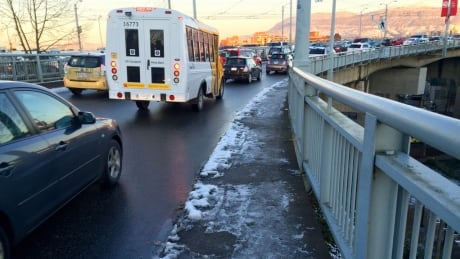 Watch out for icy roads and sidewalks this morning, commuters warned