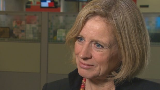 "Rachel Notley said the group that started the chant at the anti-carbon tax rally on Dec. 3 is likely an ""extreme alt-right"" group."