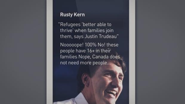 Refugee comment 1
