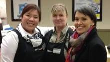 Susan Aglukark at Safeway