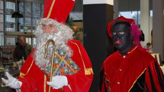 Organizers of a holiday event at the Dutch Market grocery store in Chatham apologized for having someone dress up in blackface at this year's Sinterklaas event.