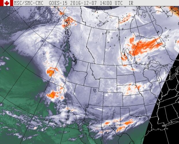 Pacific satellite storm