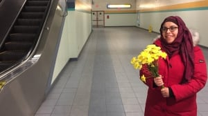 Edmonton flower LRT