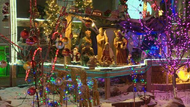 christmas display Edmonton