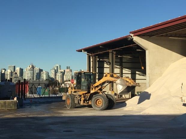 Vancouver salt shed