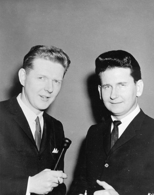 Red Robinson with Roy Orbison
