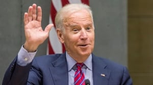 Joe Biden drops in for a visit without any gifts: Chris Hall
