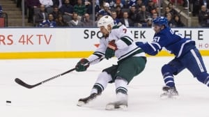 Eric Staal ensures Wild's dominance over Leafs
