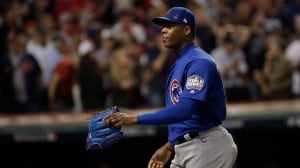 Chapman reaches 5-year deal with Yankees: report