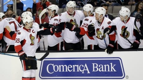 Senators' Erik Karlsson Breaks Franchise Record In Victory Over Sharks (video)