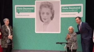 Viola Desmond to front 10 dollar bill