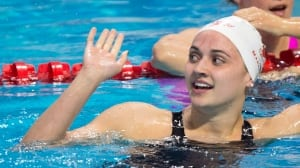 Kylie Masse advances to 50m final with personal-best time