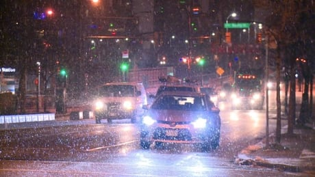 Snowy commute in Metro Vancouver and South Coast
