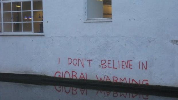 Banksy is a climate change denier, by Matt Brown