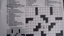 Basen crossword clue